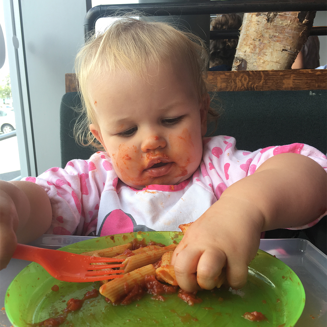 Baby Led Weaning at restaurants