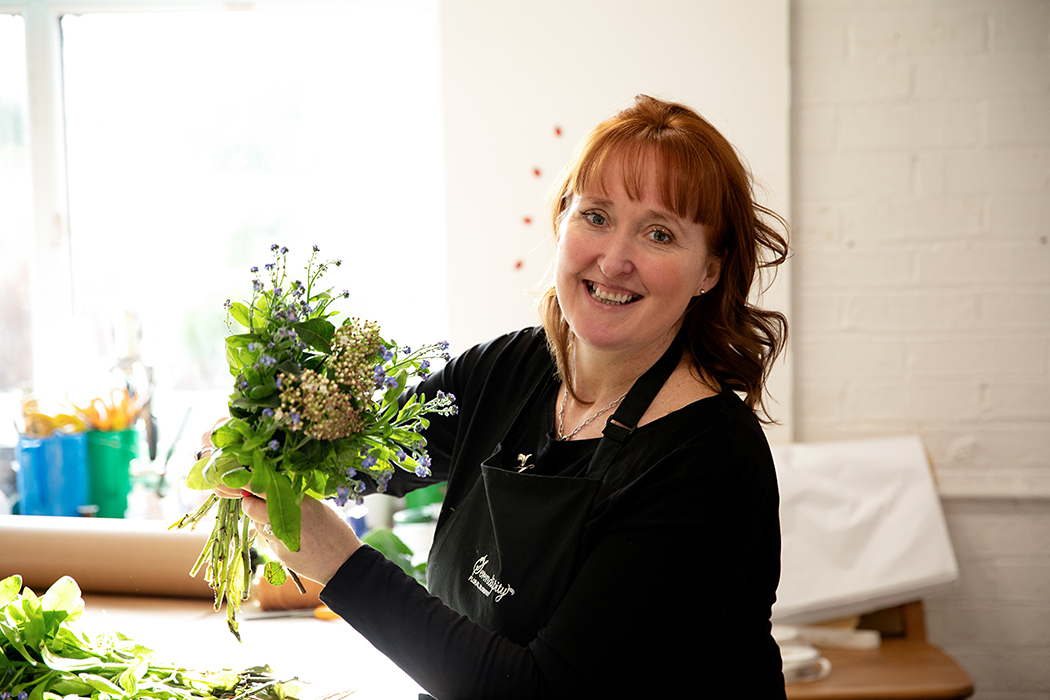 Sally from Serendipity Floral Designs