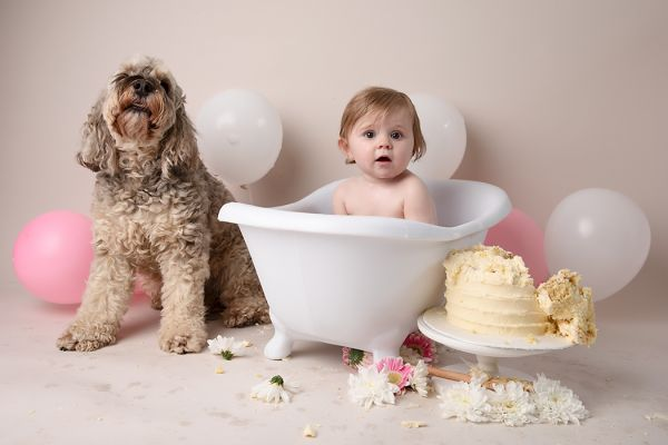 Cake Smash Photoshoot Leeds